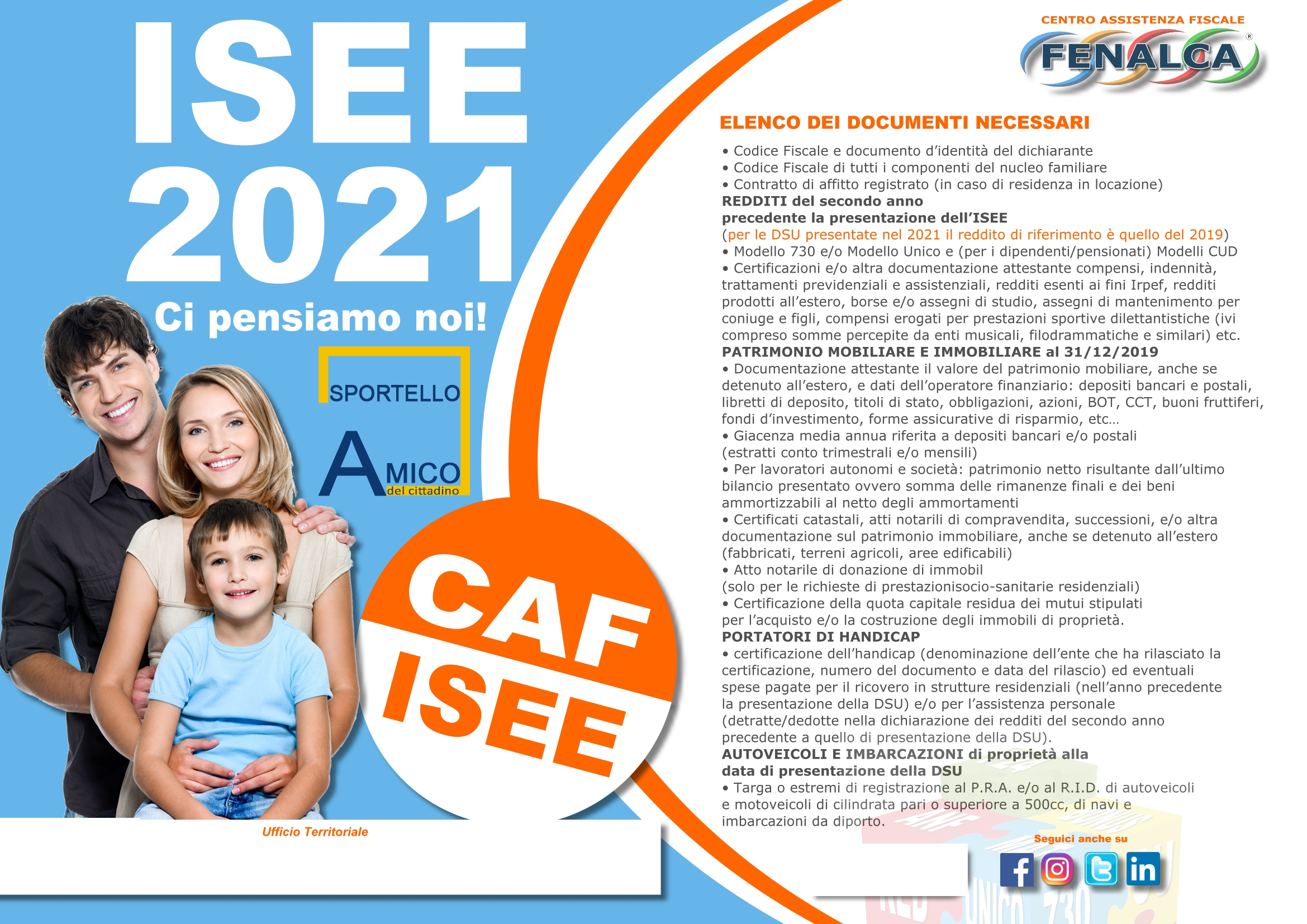 Documenti ISEE 2021